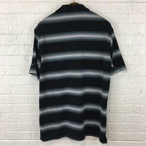 Nike Shirts - Nike golf drifit striped polo